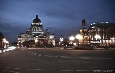Исаакиевская площадь. Инфо: